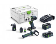 Perceuse visseuse à percussion sans fil Quadrive PDC 18/4 5,2/4,0 I-Set-SCA FESTOOL - 576468