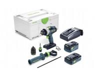 Perceuse-visseuse sans fil TDC 18/4 5,2/4,0 I-Plus Quadrive FESTOOL - 575602