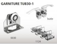 Garniture TUBEL 1 porte sur chant MANTION - TUB30-1