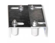 Plaque de guidage réglable pour portail AVL - lg 220 mm x hauteur 55 mm  - 7087/30