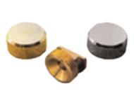 Taquet laiton patte à glace ronde QDRC - Ø 18 mm - PGPL18S03