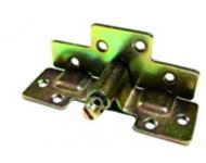 Sachet 4 Ferrure d'assemblage équerre acier zingué QDCR - 010101F15