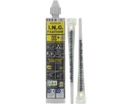 Cartouche résine scellement méthacrylate DS+ ING FIXATIONS - 300 ml - Gris - A050145