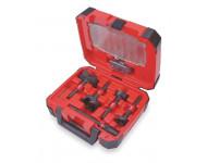 Coffret de mêches à façonner MILWAUKEE - 5 pièces + extension Quick-lock - 49225100