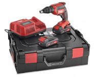 Visseuse plaque de plâtre 18V DW 45 18.0-EC/2.5 Set FLEX - 2 batteries + chargeur + L-Boxx - 467146