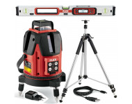 Kit laser multilignes ALC 8 + Trépied + Niveau ADL 60-P FLEX - 497274