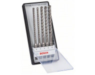 Coffret 5 forets béton 4 taillants SDS-Plus 7X Expert BOSCH 6/6/8/8/10 mm - 2608900198