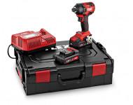 """Visseuse à choc ID 1/4"""" 18.0-EC/5.0 Set kit Pow FLEX + 2 Batterie 5 AH + 1 Chargeur - 504920"""