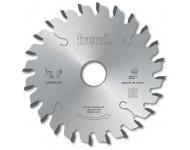 Lame d'inciseur conique industriel FREUD - Ø120 2,8-4,0/2,2 AL20 Z24 conique - F03FS02604 -LI25M28EA3