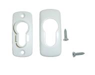 Rosace cylindre à clipper 2100C FAPIM - Blanc 9016 - 2100C_QX
