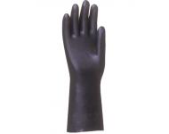 Gant enduit Néoprène SINGER Noir - Taille 9 - Risques Chimiques - NEO27009