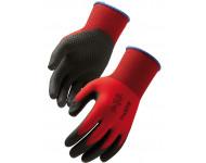 Gants polyamide SINGER rouge - taille 9 - NYMR15CFTN09