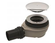 Bonde de receveur de douche GEBERIT Ø 90 mm - Avec cache bonde - Garde d'eau 50 mm - 150.551.21.1