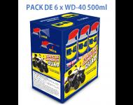Super Dégrippant WD40 500 ml - Lot de 6 - 33034/EU