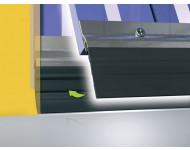 PROFILE ADS-GL BAVETTE PVC NOIR 2.5M