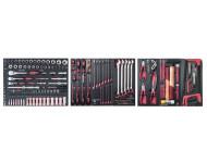 "Assortiment d'outils Completo EVA 1/4""+ 3/8""+ 1/2"" KRAFTWERK 187 pièces - 105.516.000"