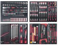 "Assortiment d'outils Completo EVA 1/4""+ 3/8""+ 1/2"" KRAFTWERK 236 pièces - 105.520.000"