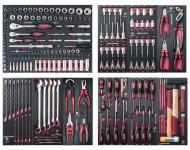 "Assortiment d'outils Completo EVA 1/4""+ 3/8""+ 1/2"" KRAFTWERK 219 pièces - 105.528.000"
