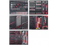"Assortiment d'outils Completo EVA 1/4""+ 3/8""+ 1/2"" KRAFTWERK 280 pièces - 105.530.000"