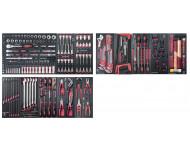 "Assortiment d'outils Completo EVA 1/4""+ 3/8""+ 1/2"" KRAFTWERK 273 pièces - 105.524.000"