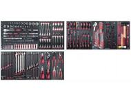 """Assortiment d'outils Pro-Line EVA 1/4""""+ 3/8""""+ 1/2"""" KRAFTWERK 264 pièces - 105.532.000"""