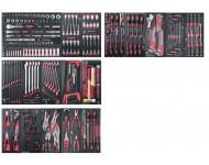 "Assortiment d'outils Completo EVA 1/4""+ 3/8""+ 1/2"" KRAFTWERK 308 pièces - 105.518.000"