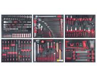 Assortiment d'outils Completo EVA 6 tiroirs KRAFTWERK 280 pièces - 105.515.000