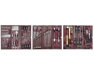 Assortiment d'outils 3 tiroirs Completo 191 pièces KRAFTWERK pour servante - 4911