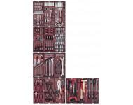 """Assortiment d'outils 1/4"""" + 1/2"""" KRAFTWERK 290 pièces - 105.509.000"""