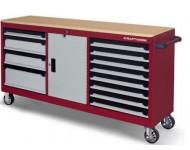 Servante d'atelier Pro-Line extra-largo KRAFTWERK 12 tiroirs - 3936