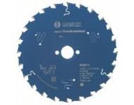 Lame de scie circulaire Expert for Construct Wood Ø20mm - 160 x 20 x 2,0 mm, 24 - 2 608 644 136