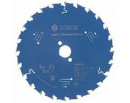 Lame de scie circulaire Expert for Construct Wood Ø20mm - 165 x 20 x 2,0 mm, 24 - 2 608 644 137