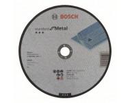 Disque à tronçonner BOSCH à moyeu plat Standard Pour le Métal 230X3 MM - Lot de 25 - 2608603168