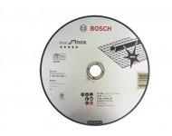 Disque BEST à tronçonner BOSCH à moyeu plat Spécial inox 230X1.9 MM - lot de 25 - 2608603500
