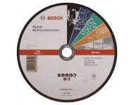 Disque UNIVERSEL à tronçonner BOSCH à moyeu plat Rapido Multi Construction 230X1.9 MM - Lot de 25 - 2608602767