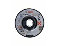 Disques Standard X-Lock Inox BOSCH 125x1 plat - Lot de 25 - 2608619262