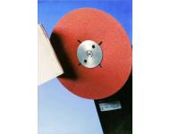 Disque fibre métaux HERMES - Ø125 - RB314 - Grain 120 - Lot de 25 - 6006422