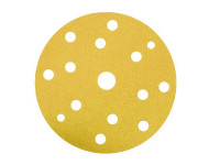 Disque papier velcro souple HERMES - VC154 - Ø 150 - 17 trous - EB137 - G 150 - Lot de 100 - 6250644