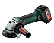 Meuleuse METABO - W 18V LTX 125 Quick 2 x 5,2 Ah Li-Power, ASC 55, coffret - 602174650