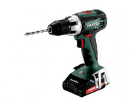 Perceuse visseuse METABO - BS 18V - LT 2 x2,0 Ah Li-Power, ASC 55, coffret - 602102530
