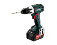 Perceuse visseuse METABO - BS 18V - LT 2 x 5,2 Ah Li-Power, ASC 55, coffret - 602102650