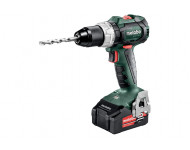 Perceuse visseuse METABO - BS 18V - LT BL 2 x 4,0 Ah Li-Power, ASC 55, coffret - 602325500