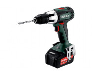 Perceuse à percussion METABO - SB 18V - LT 2 x 4,0 Ah Li-Power, ASC 55, coffret - 602103500