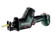 Scie sabre METABO SSE 18 LTX BL Compact sans batterie ni chargeur + coffret MetaBox - 602366840