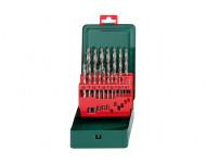 Coffret de forets HSS-G METABO - 19 pièces - 627153000