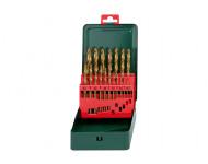 Coffret de forets HSS-Tin METABO - 19 pièces - 627156000