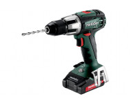 Perceuse à percussion METABO - SB 18V - LT 2 x 2,0 Ah Li-Power, ASC 55, coffret - 602103510
