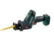 Scie sabre METABO - SSE 18 LTX Pick+Mix (sans batterie ni chargeur), coffret Metaloc - 602266840