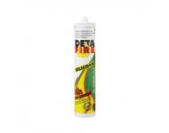 Cartouche silicone coupe feu Blanc DETAFIRE - 0100024000