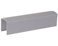 Profil de recouvrement pour OL90/95 GEZE - L.3000 mm - Blanc - 30400